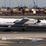 Канадский Bombardier Q400 долетел до Бостона с атмосферным давлением