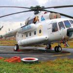 Вертолеты сгребают в кучу